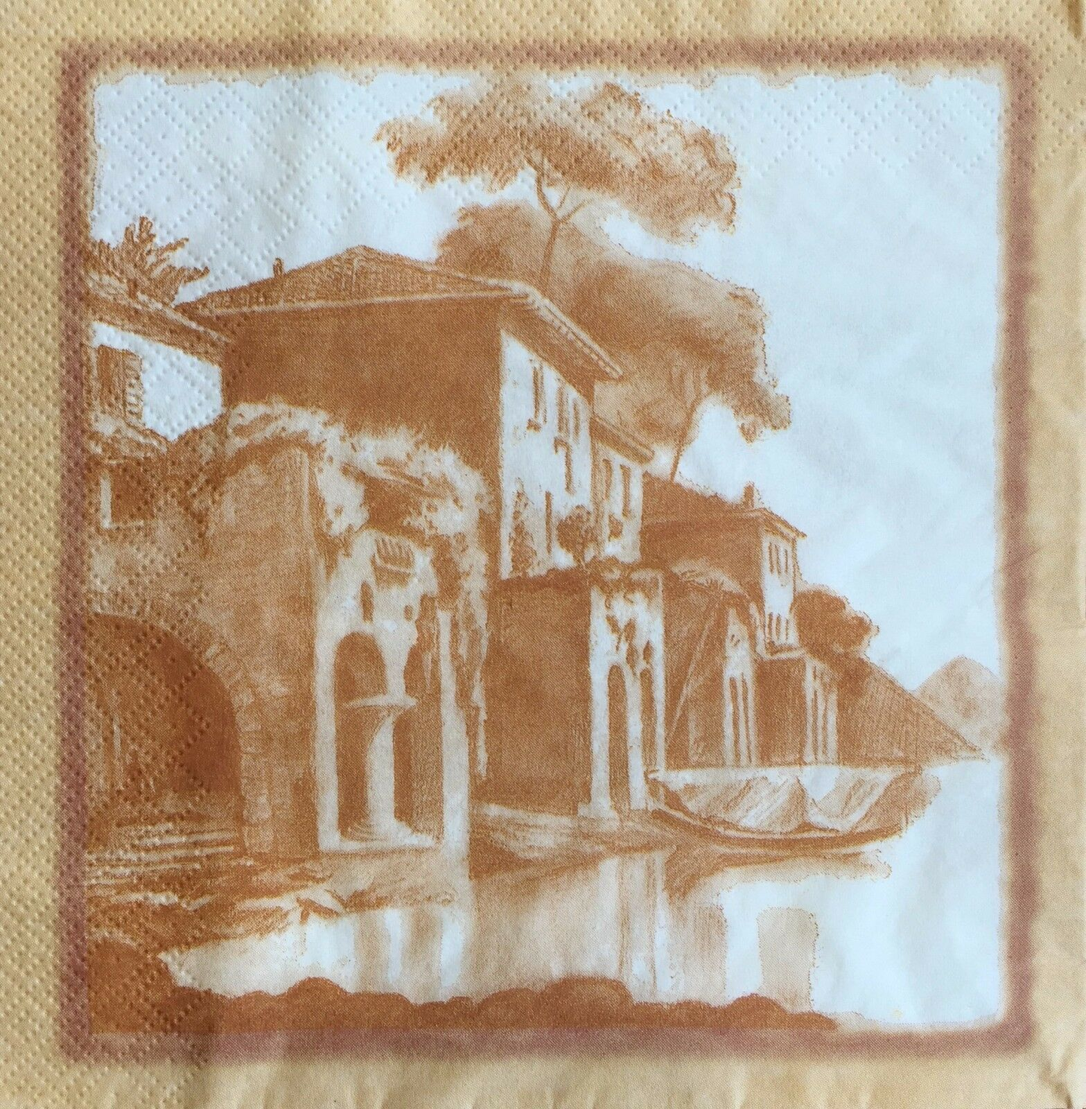 2 single Paper Napkins for DECOUPAGE Crafts Collection Party Venezia Venice City Italy Country