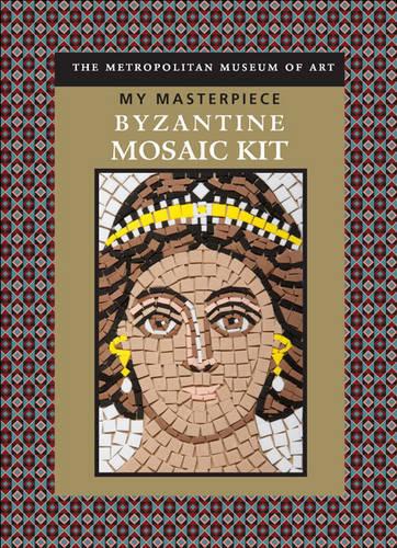 My Masterpiece: Byzantine Mosaic Kit, Metropolitan Museum of Art, Used Excellent