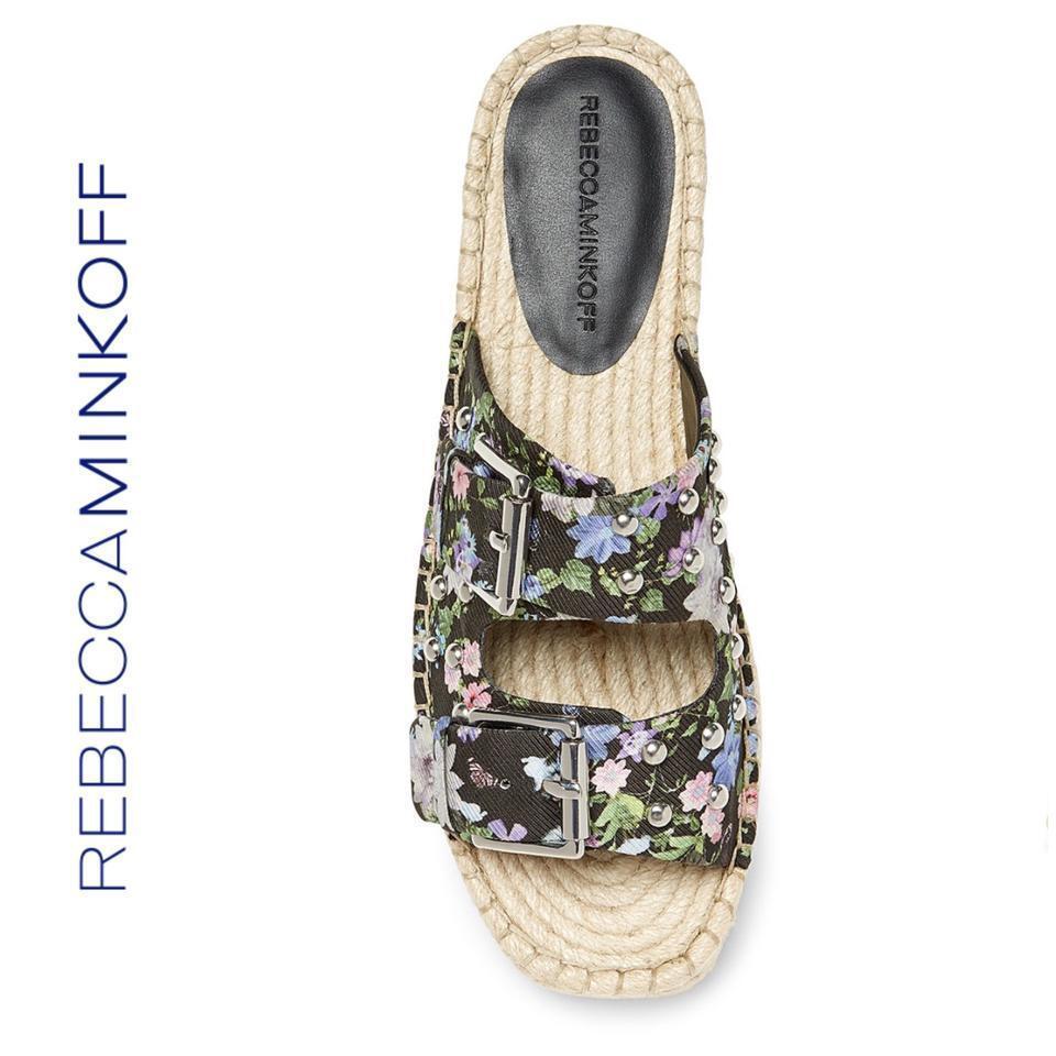 Rebecca Minkoff Jodi Jodi Jodi Platform Espadrille Floral Sandal Dimensione 8  150 NEW Slip on 11d36b