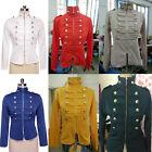 Women Long Sleeve Slim Suit Double Breasted Blazer Outwear Short Coat Jacket