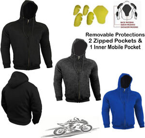 SPEED-MAXX-MENS-FLEECE-HOODIE-REMOVABLE-CE-ARMOUR-MOTORBIKE-MOTORCYCLE-JACKET