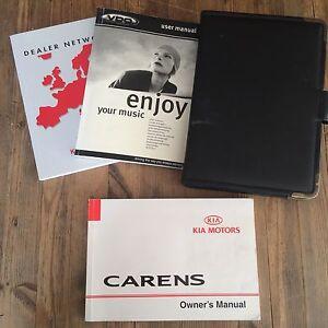 96 03 kia carens owners handbook manual pack and dealer wallet ebay rh ebay co uk kia carens user manual kia carens 2012 user manual