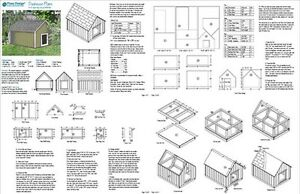 Dog House Plans Gable Roof Style Doghouse G Pet Size
