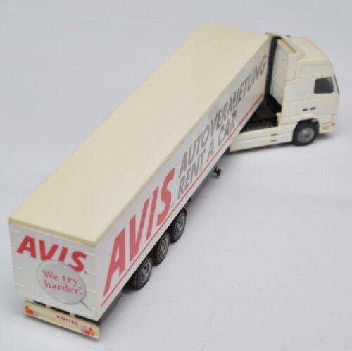 Albedo Modelle Mercedes MAN LKW Truck Sattelzug Gliederzug 1:87 zum Wählen
