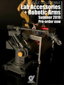 1-12-Iron-Man-Labor-Zubehoer-Roboter-Arme-Plattform-Modell-Sammlung-Spielzeug-Staender