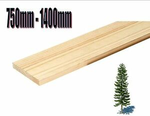 70mm X 12mm Solid Pine Shelf Wooden Boards Joinery