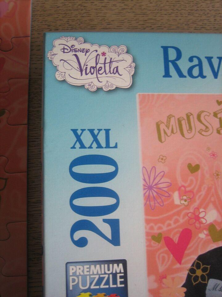 Violetta, 200 XXL, puslespil