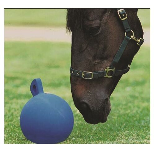 Roma Horse Play Ball tough ball can be used in the stable or field to kick aroun