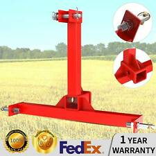 3 Point Drawbar Trailer Hitch Cat 1 Tractor Attachment Receiver Hitch Adapter
