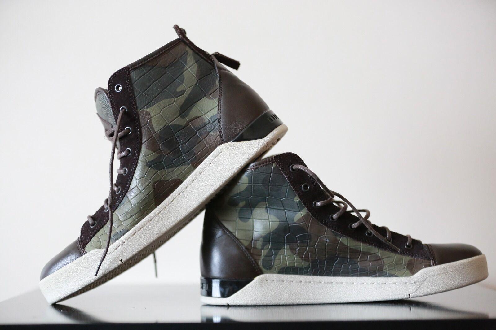 Diesel New Diamond Camouflage shoes Size UK 11 EU 45