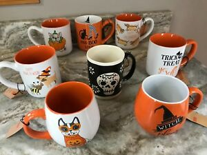 Halloween Coffee Mugs Spectrum Design Boo Spooky Trick Or Treat You Choose New Ebay