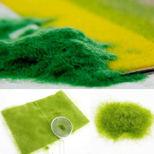 30g//Bag Artificial Grass Powder Static Grass Tree Model Railway Decor DIY Tool