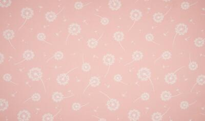 Luxury PRINTED 100/% Cotton Heavy Canvas Fabric Craft Material DANDELION BLUE