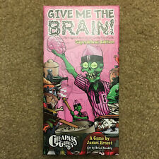 Give Me The Brain Superdeluxe Edition Card Game CAG 221 Cheapass Games
