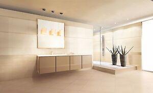 Dettagli su Piastrelle pavimento rivestimento bagno Valentino Charme Avorio  Beige Marrone
