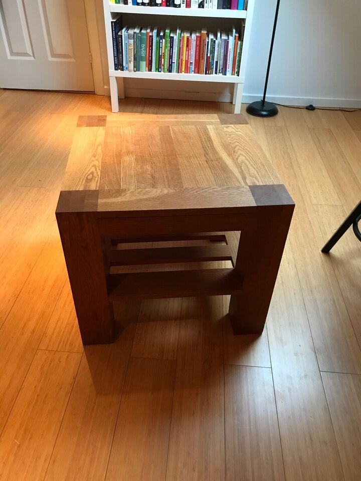 Hjørnebord, Christensen & Christensen, egetræ