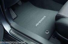 Genuine Toyota Avensis Car Textile Floor Carpet Mat Drivers Only 2012 Model