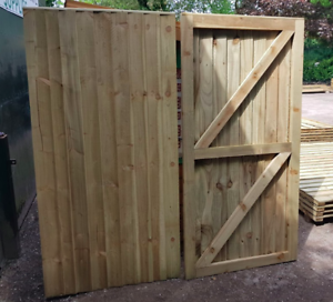 Heavy Duty Fully Framed Garden Gates