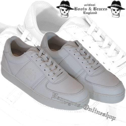 stivali & Braces scarpe da ginnastica Nero Bianco Scarpe Scarpe Scarpe In Pelle and Scarpe da ginnastica scarpe da ginnastica Leather 9da898