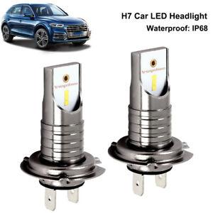H7 110W 26000Lm LED Car Headlight Conversion Globes Canbus Bulbs Beam 6000K Kit