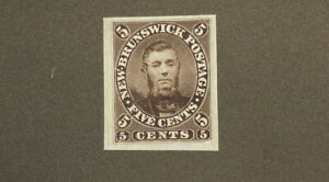 NEW-BRUNSWICK-5-Proof-Mint-Light-Hinged-On-Gummed-Paper-Issued-Color-up-61