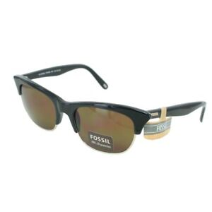 179481ad848b Fossil PS7203001 Wyoming Black Women's Sunglasses 100% UV Protection ...
