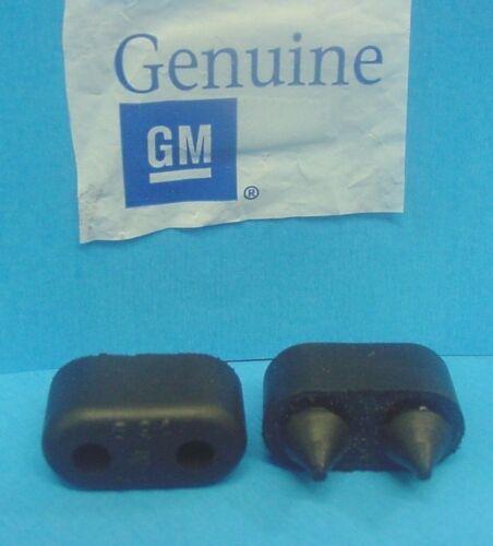 Qty 2 Genuine GM 1967-1990 Buick Rubber Front Door Bumpers Stops Jamb  NOS