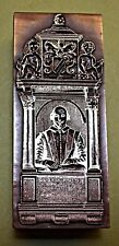 """SHAKESPEARE'S MONUMENT""  STRATFORD UPON AVON. PRINTING BLOCK."