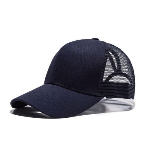 Fashion Glitter Ponytail Baseball Caps Women Bun Adjustable Snapback Hip Hop Hat