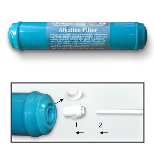 Basische Alkaline ph Filter Inline Ersatzfilter Osmose Umkehrosmose