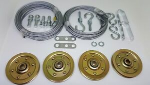 Captivating Image Is Loading Complete Garage Door Extra Heavy Duty Pulley Cable