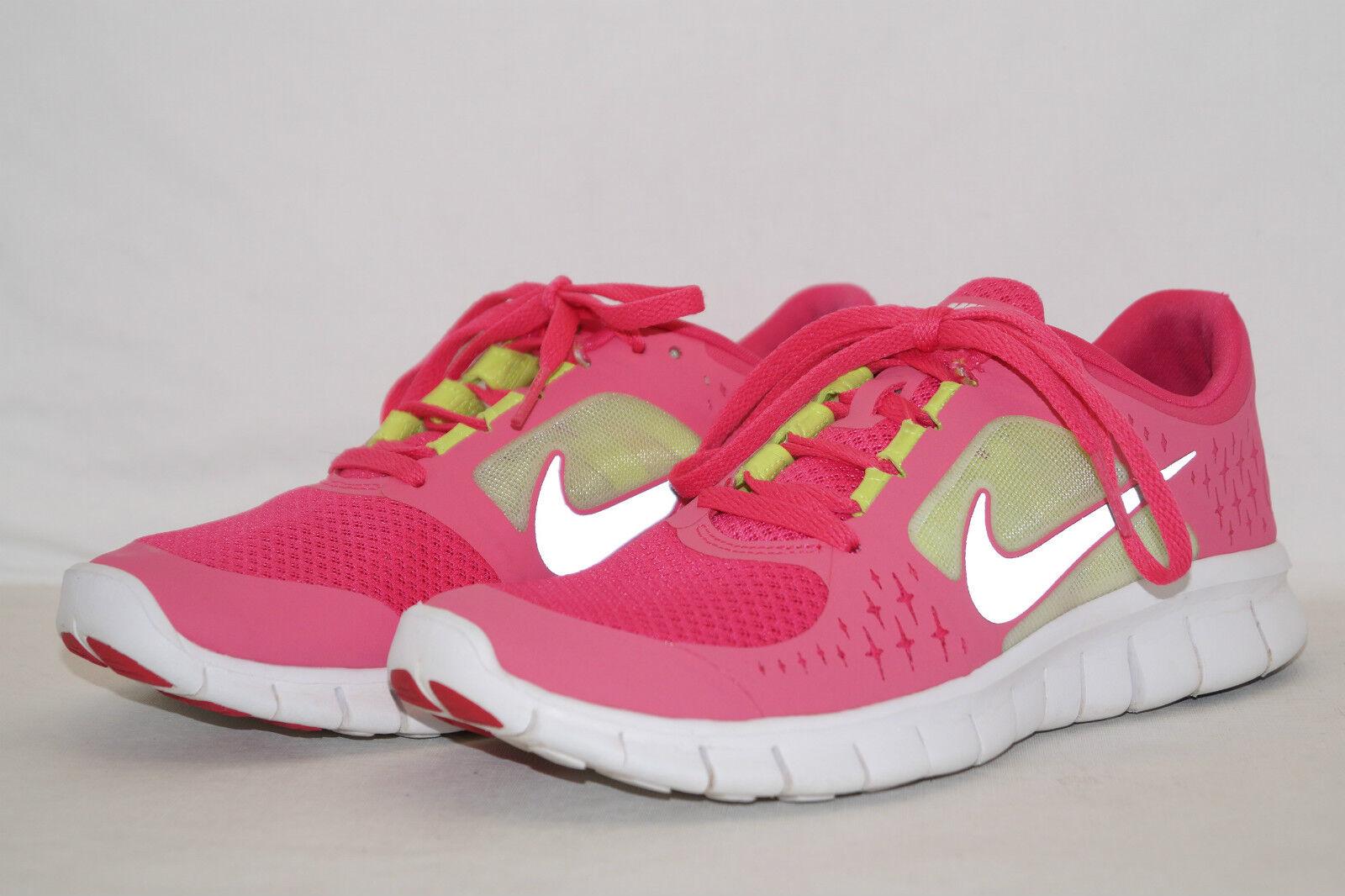 NIKE FREE RUN 3 pink yellow reflektierend Gr 38 pink 512098-600