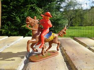 Vintage-JEAN-HOEFFLER-W-GERMANY-CAVALIER-COW-BOY-Bandit-en-tres-bon-etat