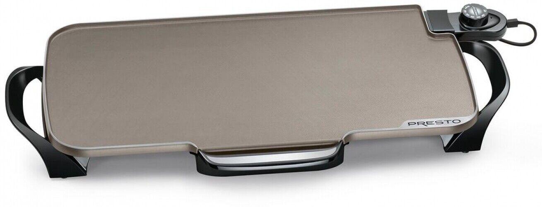 Presto électrique crêpière Grill Indoor cuisson Céramique Aluminium Comptoir Noir
