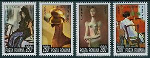 Rumaenien-1993-Mi-4891-94-Europa-Zeitgenoessische-Kunst-Picasso-Brancusi