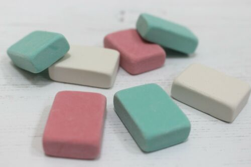 Pencil /& Ink Rubber Erasers 2 Types in Packs of 8 /& Multi Pack Bulk Deals