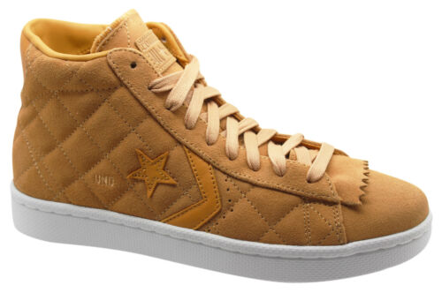 Converse PRO LEATHER Undftd imbattuto STRINGATI TAN Mid Sneaker Uomo 137374 C M8