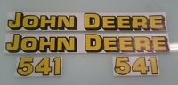 John Deere 541 Loader Decals