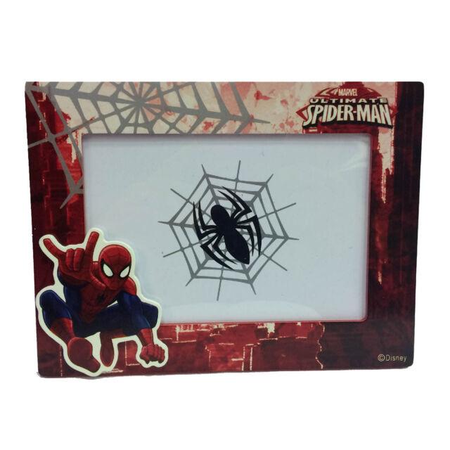 Spiderman hombre Araña marco rectangular roja 18 5x14 cm de Niño | eBay