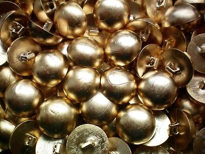 W644 18mm 28L Gold /& White Sparkle Domed Shank Costume Craft Plastic Buttons