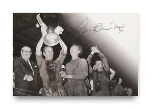 Sir-Bobby-Charlton-Signed-6x4-Photo-Card-Manchester-United-England-Autograph-COA