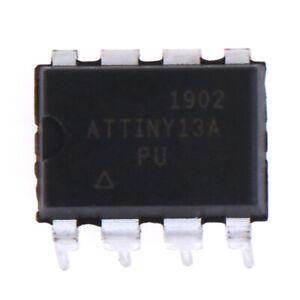 5PCS-ATTINY13A-PU-insertion-ATTINY13A-DIP8-IC-MCU-AVR-1K-FLASH-20MHZ-NE-HO