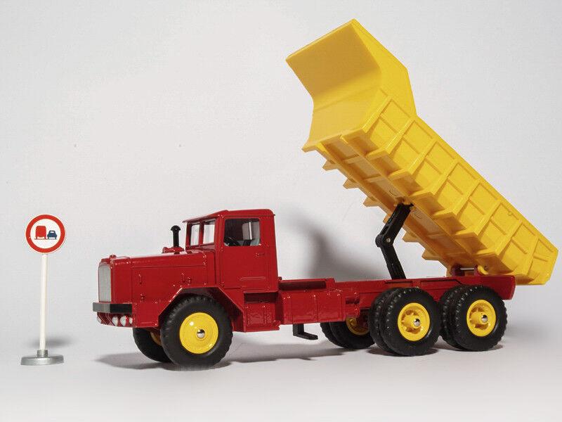 Super Dinky Toys 1 43 Atlas 572 BERLIET GBO AVEC BENNE CARRIERE BASCULANTE MODEL