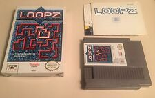 Loopz (Nintendo Entertainment System, 1990) NES GOOD!