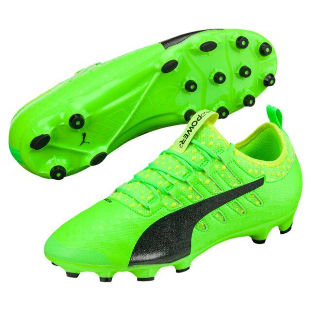 Bota de Fútbol Puma Evopower vigor 2 AG Green Gecko-black-safety Yellow 9  UK (43 EUR)  a94efb2195e9f