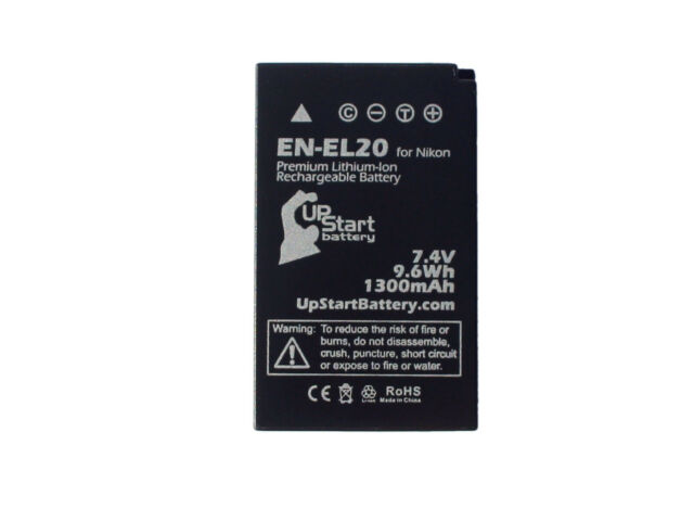 Battery for Nikon Coolpix A, 1 S1