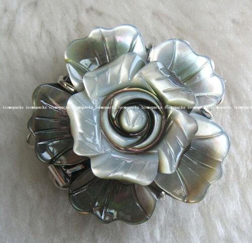 white salt sea shell flower jewellery clasp 3strings