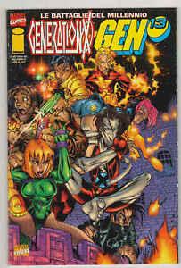 GENERATION x/GEN 13 - Le battaglie del millennio n°8 - Marvel Italia