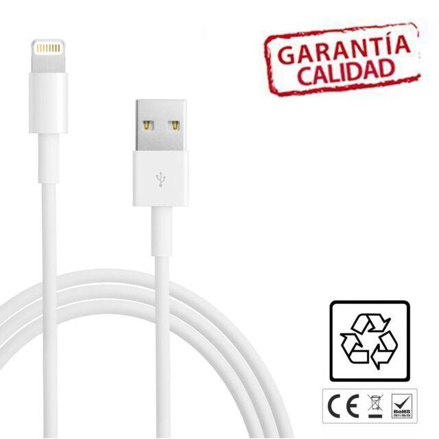 **CABLE COMPATIBLE** carga y sincroniza para iphone 5 iphone 6 cargador BLANCO