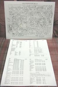cobra 148gtl dx export cb radio circuit diagram schematic and rh ebay com CB Radio Manuals PDF CB Radio Chart